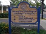Barrington Municipal Building Complex sign