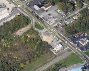 Location of the White Horse Pike project near Bell Avenue in Barrington (image via Google Maps)