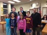 Woodland students of the month, November 2012