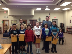 December 2012 Woodland School Students of the Month (photo submitted by Barrington School District)